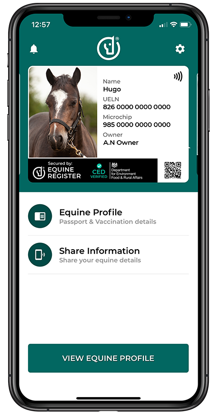Equine Digital Smartcards